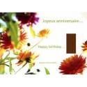 """Carte postale encens """"Joyeux Anniversaire"""" - Les Encens du Monde"""