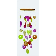 mobile-feng-shui-coquillages-jaune-orange-rouge