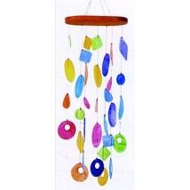 mobile-coquillages-multicolores