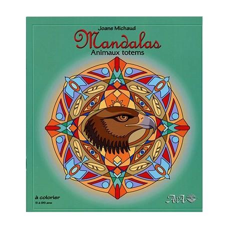 Coloriage Animaux Totem.Chemin Du Bien Etre Mandalas Animaux Totems Album A Colorier