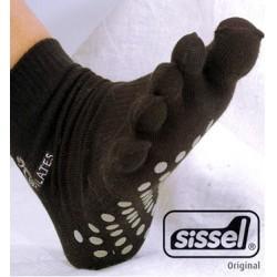 Chaussettes Pilates avec orteils - L/XL