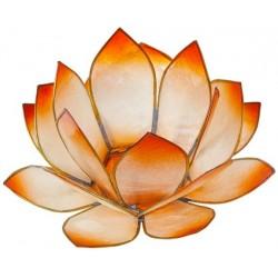 bougeoir-lotus-levee-du-soleil-mandarine