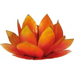 bougeoir-lotus-levee-du-soleil-rose-et-jaune
