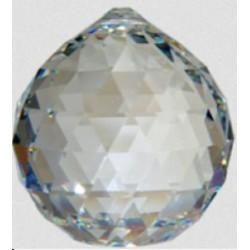 Boule de Cristal à facettes - 40 mm
