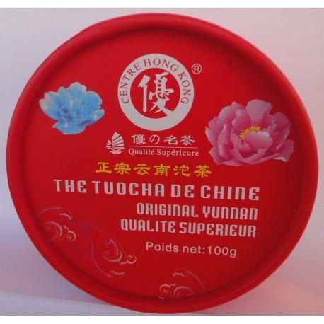 Thé Tuocha Yunnan en Forme de Nid