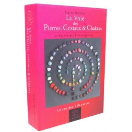 La Voie des Pierres, Cristaux & Chakras - Le jeu de 110 cartes