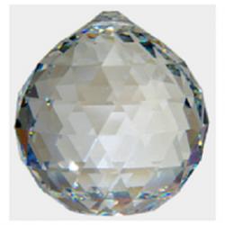 Boule Cristal à Facettes 50 mm